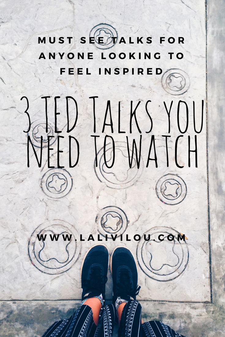 3 TED Talks Everyone Needs To Watch