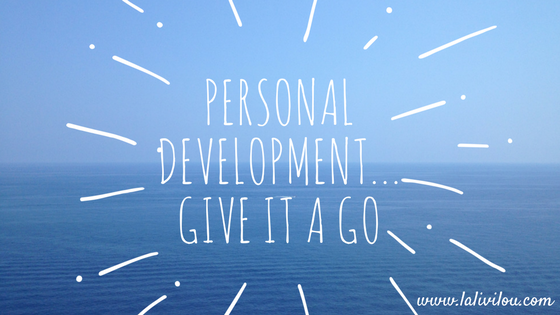 Give Personal Development A Try